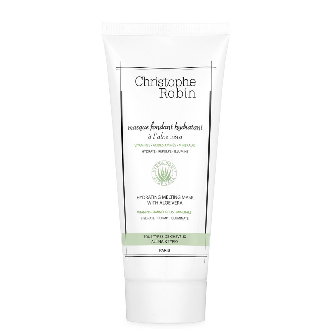 Christophe Robin Hydrating Melting Mask with Aloe Vera 200 ml alternative view 1 - product swatch.
