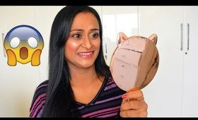 No Mirror Makeup Challenge in Tamil | கண்ணாடி இல்லாம மேக்கப் போடா முடியுமா ?
