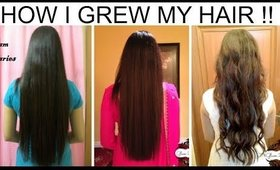 How to Grow Hair Faster & Longer: Long Hair Growth Tips