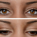 Subtle Rose Gold Eye Makeup
