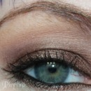 Urban Decay smoldering look with the Smoked palette