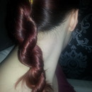 my rope braid How do I stop my layers from poking out? comments please