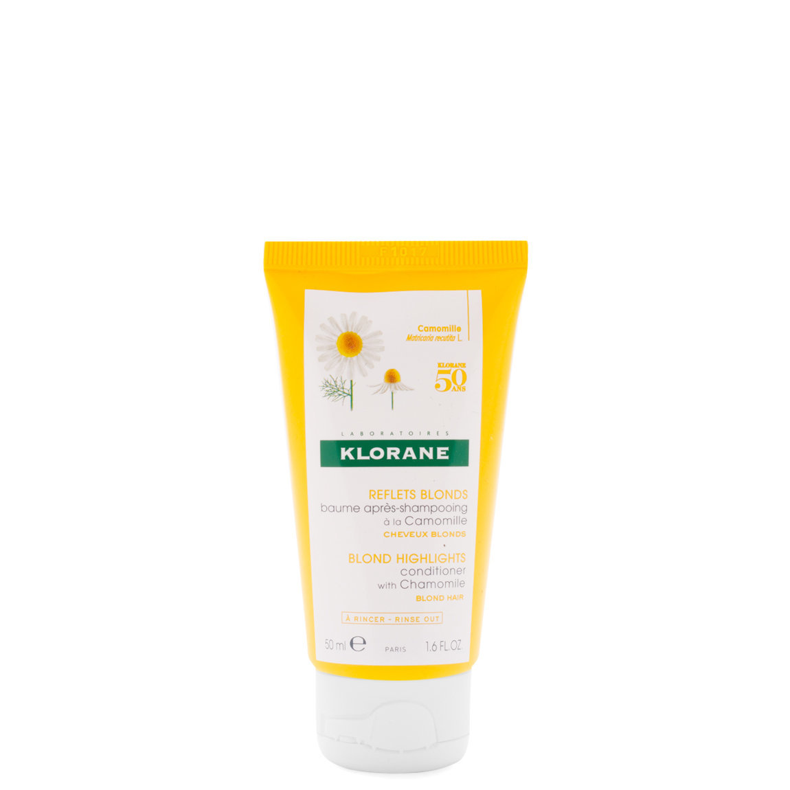 Klorane Conditioner with Chamomile 1.6 oz product smear.