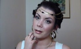 Halloween Series : Greek Goddess inspired make-up tutorial