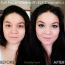 Summertime Blues   Full Face Look with ELF Cosmetics