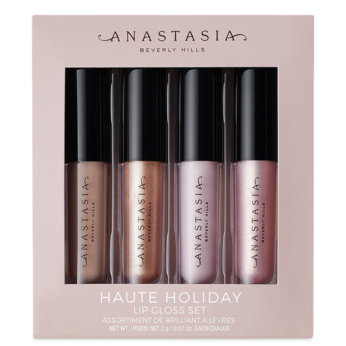Anastasia Beverly Hills Haute Holiday Lip Gloss Set alternative view 1 - product swatch.