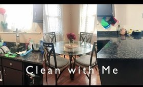 Clean with me | Speed cleaning my kitchen