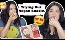 Trying out Vegan Snacks