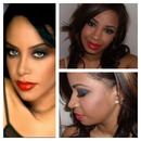 Aaliyah Inspired Makeup