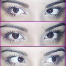 Natural eyes look!