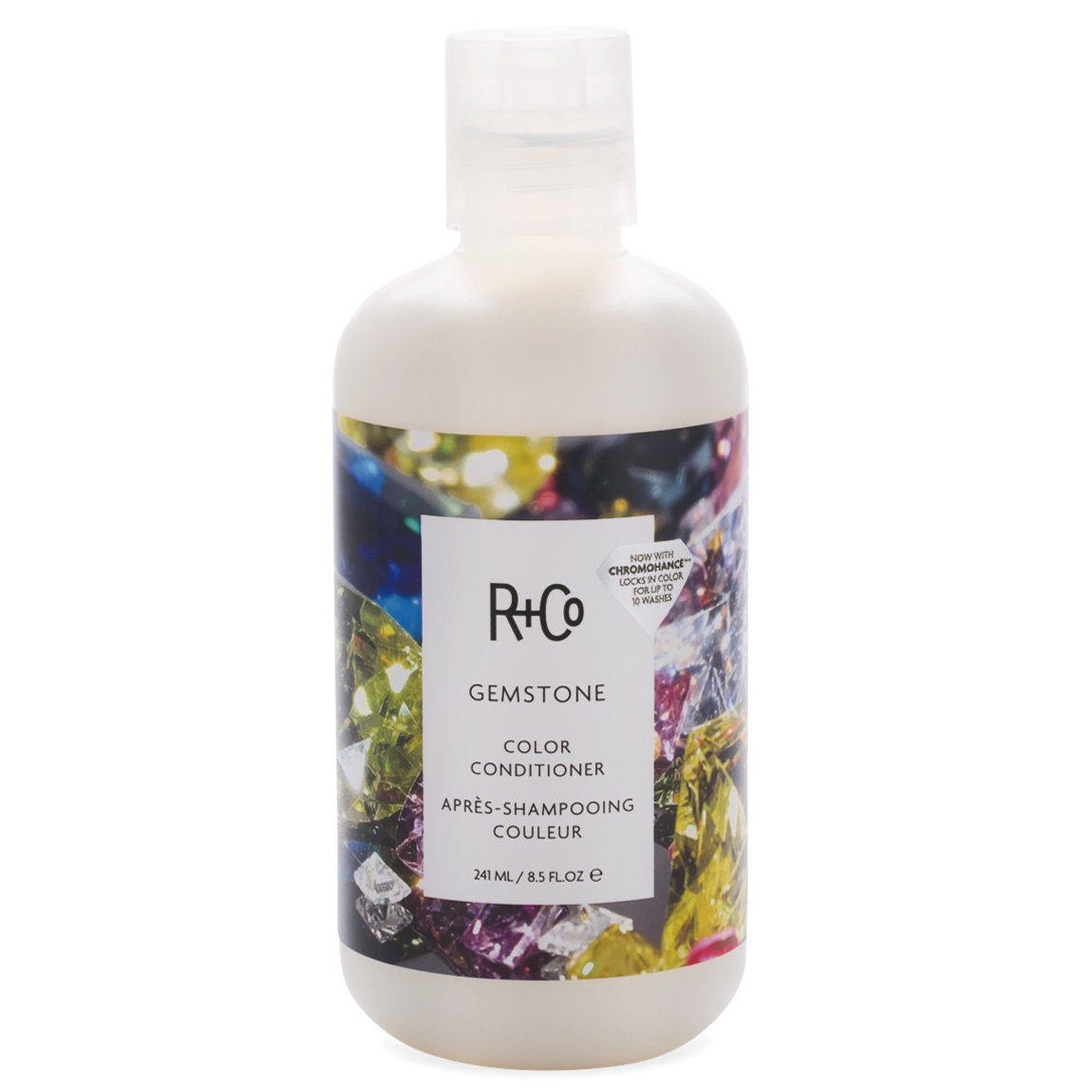 R+Co Gemstone Color Conditioner 8.5 oz product swatch.