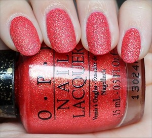 Liquid Sand from the Bond Girls Collection coming out in May! See more swatches & my review here: http://www.swatchandlearn.com/opi-jinx-swatches-review/