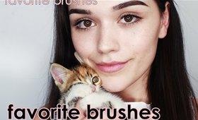 Favorite makeup brushes | eyes