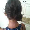 Fun summer updo