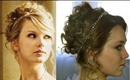 Taylor Swift, Love Story, Updo | Naturesknockout.com