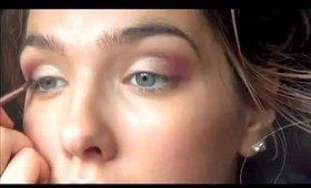 Easy Purple Smokey Eye-Really Pretty