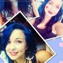 Throwback Blue hair c: