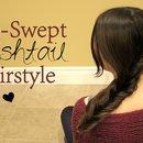 Side-Swept Fishtail Style