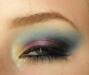 How I did the look: 