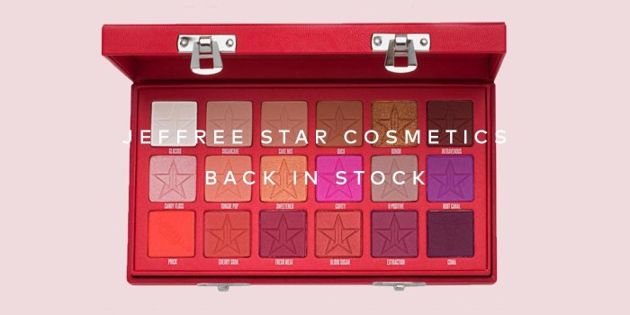 Jeffree Star Cosmetics' Blood Sugar Palette is now back in stock! Shop now on Beautylish.com
