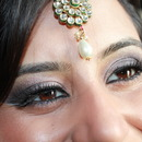 Indian Makeup with a twist
