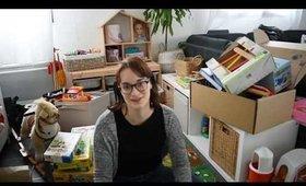 Huge Toy Declutter   Minimalism