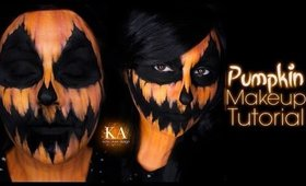 Pumpkin Halloween Makeup Tutorial - 31 Days of Halloween