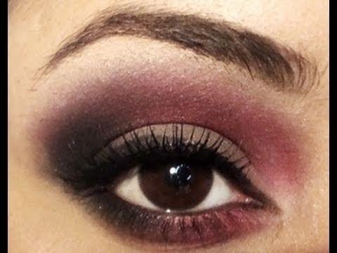 Dare2wear Grey Hot Pink Black Eyeshadow Tutorial