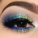 Sparkly Greens & Blues