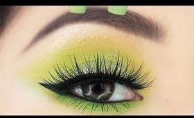 Neon Eyeshadow Makeup Tutorial for Beginners   How to Wear Neon for the baddie in you