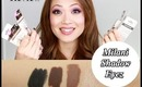 Milani Shadow Eyez Spring 2014 | Review and Swatches