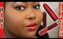 MAC Viva Glam Rihanna Swatches + Review