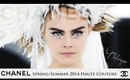 Cara Delevingne for CHANEL spring/summer 2014 haute couture show - Makeup Tutorial