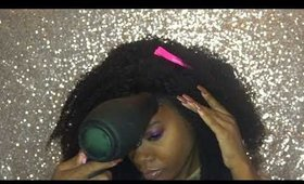 Afro Punk Themed Look with Lace Front Wig