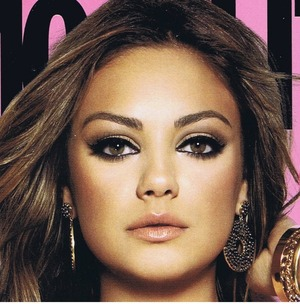 Mila Kunis on the cover of Cosmopolitan.