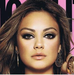 Mila Kunis on the cover of Cosmopolitan.
