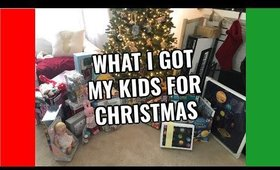 What I Got My Kids For Christmas
