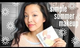 Simple Summer Makeup (feat. Jane Iredale) | now&jenn