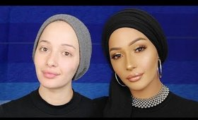 Updated GO-TO Everyday Makeup Routine  *Turban* | Nura Afia