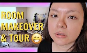 IT'S FINALLY DONE! 😄 MY NEW BEAUTY ROOM + TOUR