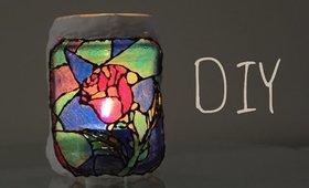 DIY: Beauty and the Beast Rose Window