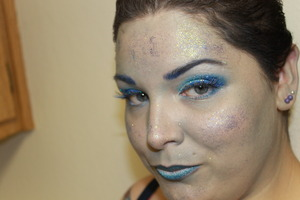 This is a Halloween look I did for my YouTube channel. If you want to see how I did it you can watch the video here http://www.youtube.com/watch?v=ML5b3_KGm0g&feature=g-upl