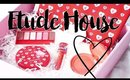 Etude House Pink Bird Unboxing   Spring Strawberry Melting Sweet Makeup Collection 2016