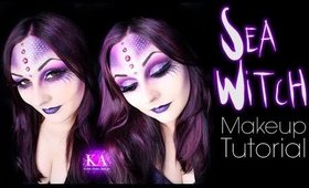 Sea Witch Halloween Makeup Tutorial - 31 Days of Halloween