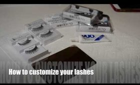 How to customize your lashes
