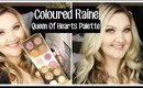 COLOURED RAINE 'QUEEN OF HEARTS' PALETTE | LOOK + SWATCHES