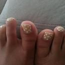 polka dot toes!