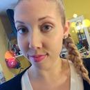 Natural makeup w/ a pink lip