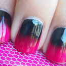 Reverse Gradient Nails