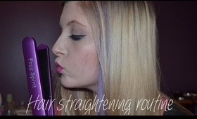 My Hair Straightening Routine